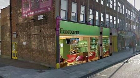 How the new Foxton's estate agents will look on Stoke Newington Church Street