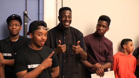 The Voice winner Jermain Jackman attends the Platform showcase by Concorde Youth Board