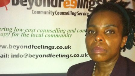 Nerine O'Connor from Beyond Feelings counselling service