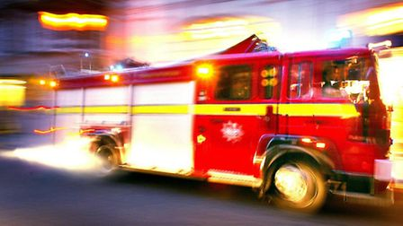 Fire crews from across four stations tackled the blaze in Forest Gate