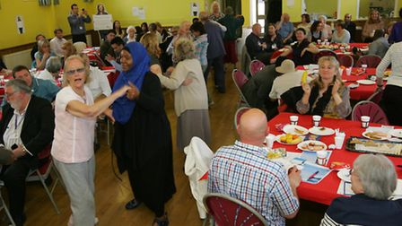 A dementia event and Singing for the Brain taster session at the IRDSA Hall, in Barkingside