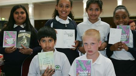Pupils from Gainsborough Primary said they were inspired by the authors who attended the awards