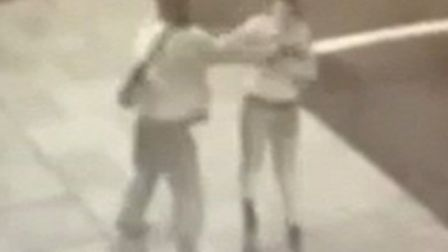 The vicious attack in Ilford Lane caught on CCTV