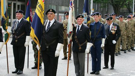 Armed Forces Day at Redbridge Town Hall, High Road, Ilford, last year