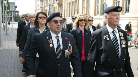 Armed Forces Day at Redbridge Town Hall, High Road, Ilford last year
