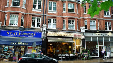 The Sainsbury's Local would have replaced four indepdendent shops in South End Green - Belsize Stationers, Polly's Cafe...