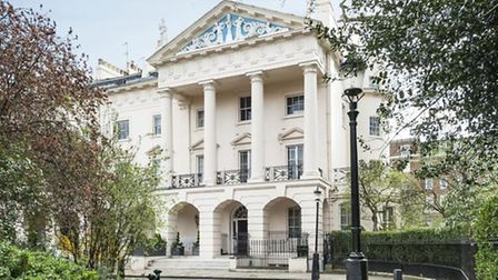 The Regent's Park mansion that Damien Hirst is reported to have bought