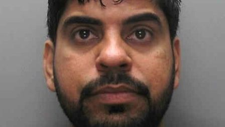 Khurram Shahzad, 30, was jailed for 21 months (Picture: British Transport Police)