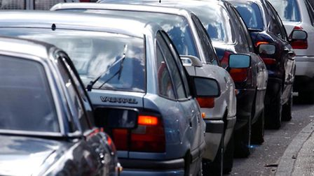 A crash at Beckton Roundabout is causing delays.