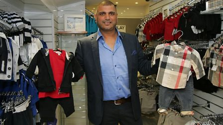 Jesse and Nick Bassi. set up their shop Childsplay clothing in Ilford, which is where they sell designer baby clothes (e.g.