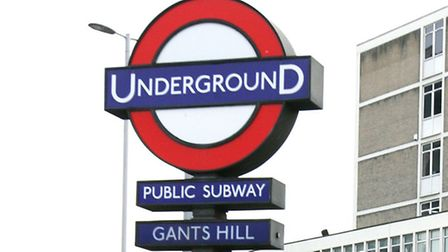 Gants Hill station's ticket office is one of many in London set for closure