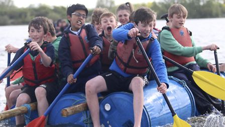 Children enjoying themselves at one of the Splash days at the Fairlop Outdoor Activity Centre. [Picture: Redbridge Council]