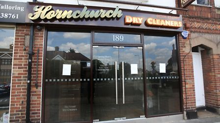 Hornchurch Dry Cleaners on Station Lane was torched in a fire that the owner believes was started by two young girls.