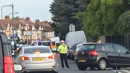 Police have barred access to Gresham Drive.