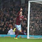 Aaron Cresswell scores first goal for the Hammers against Newcastle at the Boleyn Ground