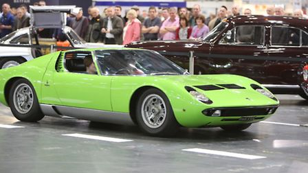 The Classic car show at Excel in Newham