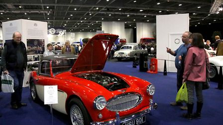 Classic car show at Excel in Newham Picture by Victoria Okunevic