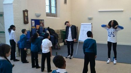 Pupils take part in a street dance workshop as part of the Easter Experience (Pic by Jennifer Essu)