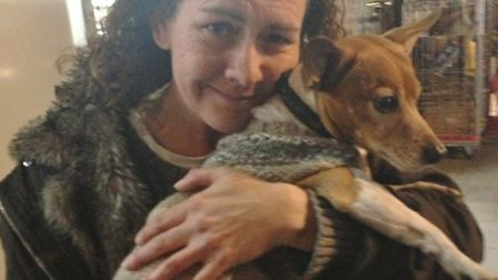 Give a Dog a Coat Appeal's Lara Evans, pictured, is urging people to knit dog coats or donate old ones for dogs with...