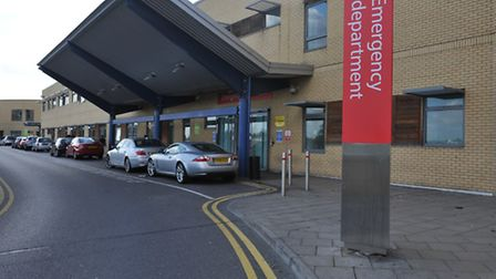 The emergency department at Queen's Hospital, Romford.