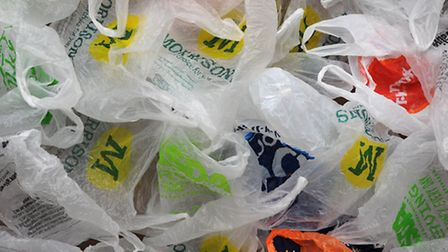 London shoppers are set to be hit with a 5p charge for plastic carrier bags from October