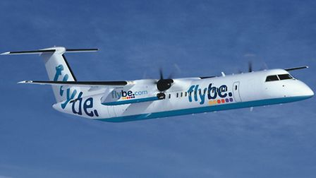 Flybe is cancelling its Dublin service from London City Airport (Pic by Flybe)