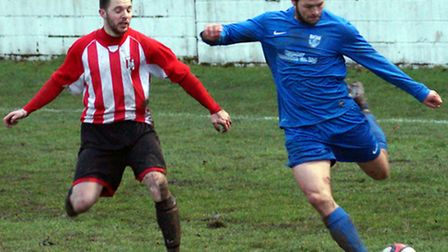 Barking beat Clapton 1-0 when the sides met at Mayesbrook Park in January (pic: Terry Gilbert)