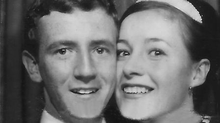 Stan and Joan Dyson after being married in 1963