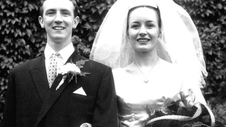 Stan and Joan Dyson on their wedding day in September 1963
