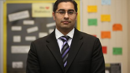 Principal Mouhssin Ismail at Newham College Sixth Form Centre (The NCS)