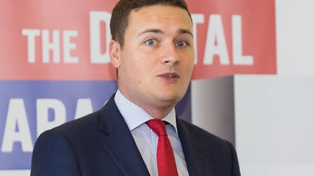 Wes Streeting MP speaking at the Google business seminar in Fulwell Cross Library in Barkingside.