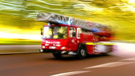 Two fire engines were sent to the scene.
