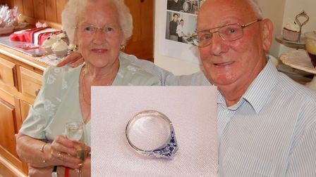 Walter and Jean Gardiner who were happily married for 64 years until Walter died in 2015. Burglars have stolen Jean's...