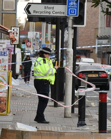 Police have been investigating all day. Picture: Ken Mears