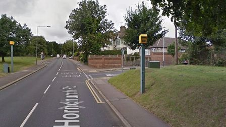 The junction of Lyndhurst Drive and Hornchurch Road where the first incident happened. Picture: Google Maps