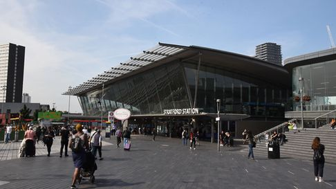 Stratford station is the seventh busiest in the UK Picture: Ken Mears