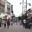 Romford Town centre. South Street