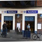 Police and ambulance services were called to Romford train station this morning.
