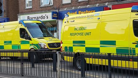 Police were called to reports of an acid attack in Collier Row Road at around 6.45pm this evening (Wednesday, August 15).