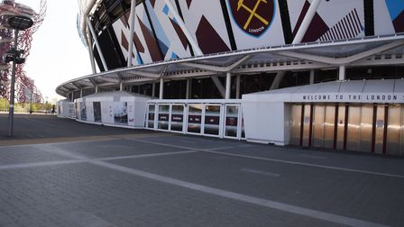 The London Stadium in Stratford. Pic: Ken Mears