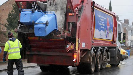 Check your Christmas and New Year bin collection dates. Picture: SIMON PARKER