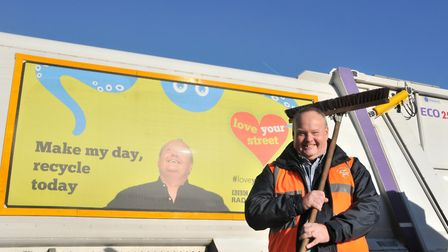 Mark Murphy has previously campaigned about keeping Ipswich's streets clean Picture: IPSWICH BOROUGH COUNCIL