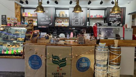 New cafe, Coffeelink, Woodbridge at Whisstocks by the river Deben Picture: JADE PHAIR