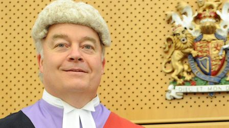 Judge Rupert Overbury Picture: PHIL MORLEY