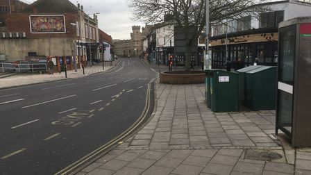 Majors Corner needs improvement - but the main road makes radical change difficult, Picture: PAUL GEATER