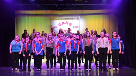 The Ioswich Gang Show will be at the Great School Theatre from April 10-13.
