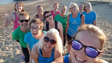 Running can be a fun resolution to make. I Can Run club is a supportive community for women. Picture: EMMA TALBOT