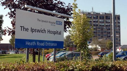 A woman died at Ipswich Hospital in the early hours of Tuesday morning Picture: PHIL MORLEY