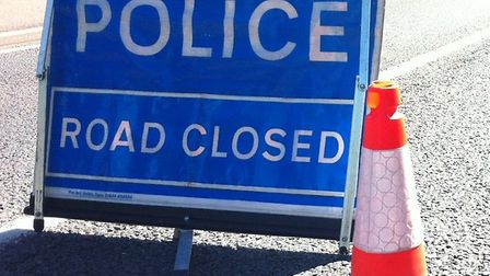 A stretch of the A1303 is closed following an accident. Picture: ARCHANT