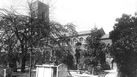 St Clement's church in Ipswich Picture: DAVID KINDRED ARCHIVE